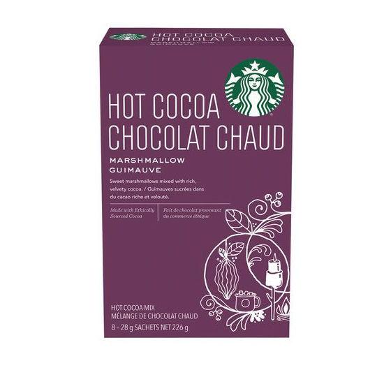 Starbucks Hot Cocoa Marshmallow - 8Ct