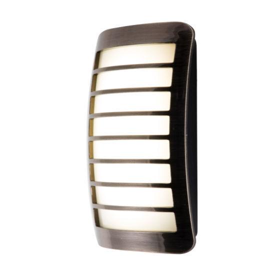 Ge Light Sensing Led Night Light - Brushed Silver