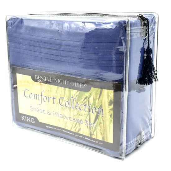 Comfort Collection Sheet Set King - Blue