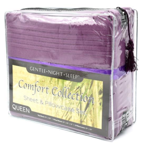 Comfort Collection Sheet Set Queen - Lavender