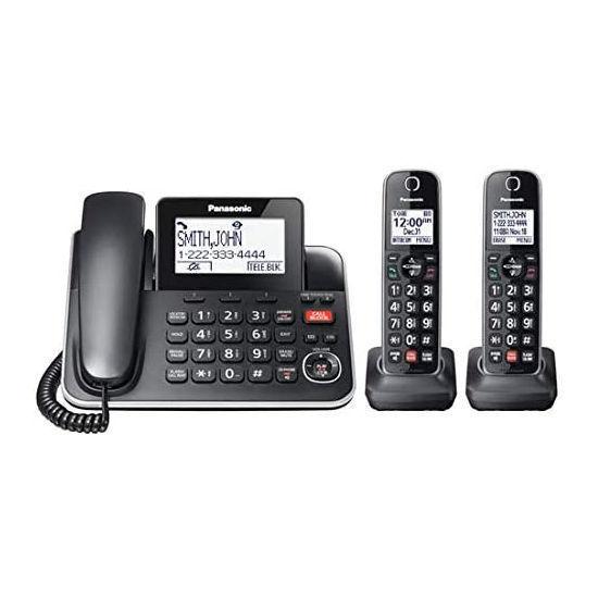 Panasonic Kxtgf872 Dect6.0 1Xcrd+Exp. 2Xcls Phn W/T.Cid/Ans