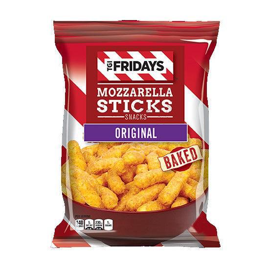Tgi Friday's Mozzarella Sticks Snacks Original 99G