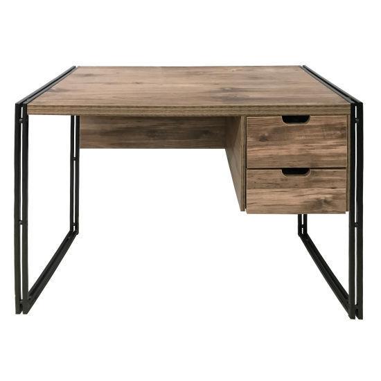 Amalfi Desk With Drawers-Mocha