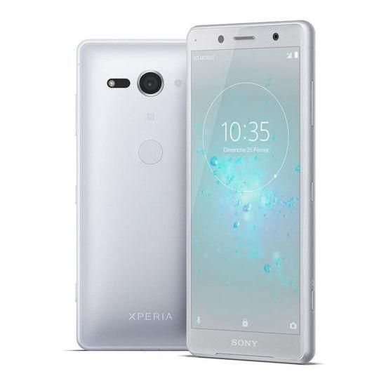 "Sony Xperia Xz2 Compact 64Gb 5"" Unlocked Smartphone, Wht/Slv"