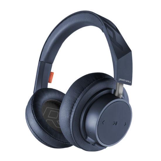 Plantronics Go 600 Wireless Bt Headphone W/Microphone-Blue