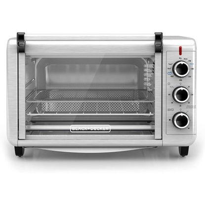 Black & Decker Crisp N'bake Air Fryer Toaster Oven -S.Steel