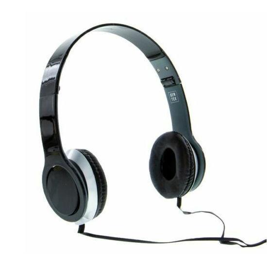 Gentek H1 Wired Headphones - Black