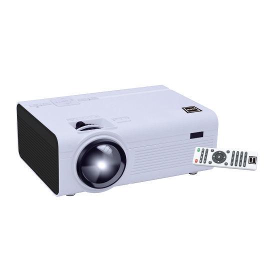 Rca Rpj136 2000 Lumens 1080P Home Projector W/2X Hdmi