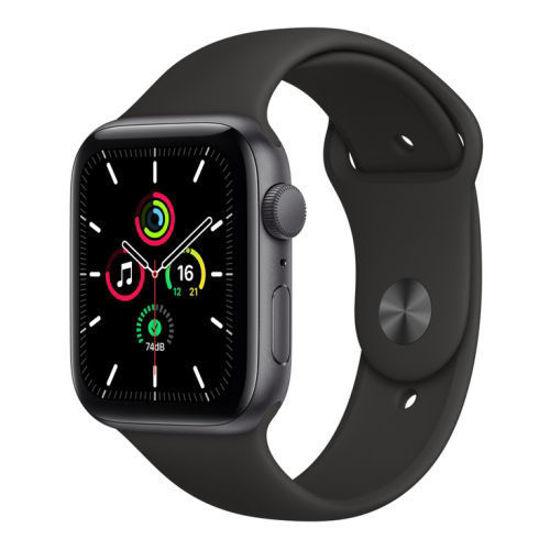 Apple Watch Se (Gps) 44Mm Space Grey W/Black Sport Band