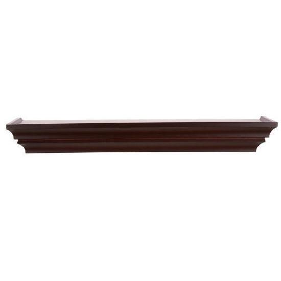 "Gallery Solutions 24"" Floating Shelf - Walnut"
