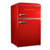 Galanz 3.1 Cu.Ft Retro Fridge W/Top Freezer -Red