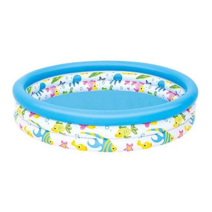 """Bestway Inflatable Kids Pool - Coral 40""""X10"""""""