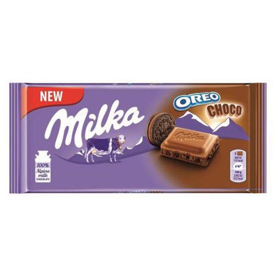 Milka Oreo Brownie Chocolate- 100G